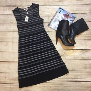 {Max Studio} striped dress